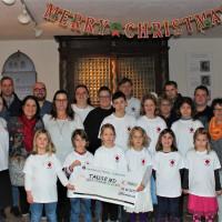 Die Kinder freuten sich über die finanzielle Unterstützung.